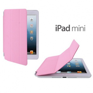 Displayschutz Cover für Apple iPad Mini / Mini 2 Retina Abdeckung Hülle rosa
