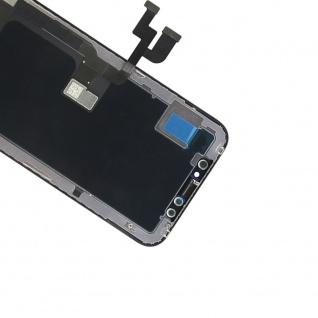Display LCD OLED für iPhone X / 10 Schwarz Komplett Einheit Touch Ersatzteil - Vorschau 4