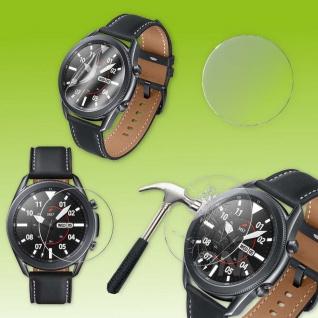 H9 Hart Glas Schock Folie für Samsung Galaxy Watch 3 41mm LTE Smart Watch