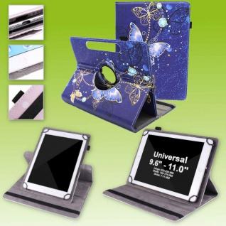 Für Huawei MatePad T10 / T10s 360 Grad Motiv 14 Tablet Tasche Kunst Leder Etuis