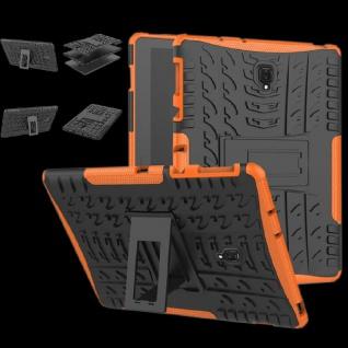 Hybrid Outdoor Schutz Hülle Orange für Samsung Galaxy Tab S4 10.5 T830 Tasche