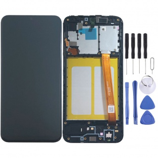 Samsung Display LCD Einheit für Galaxy A20e A202F GH82-20186A und 20229A Schwarz