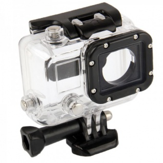 Unterwasser Gehäuse Tauchgehäuse für GoPro Hero 3 mit Objektiv Schutz Zubehör