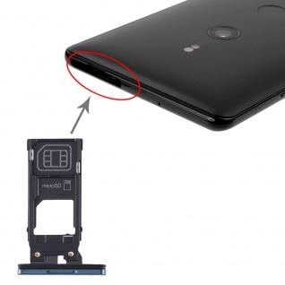 Für Sony Xperia XZ3 SIM Halter + SIM Karten Halter + Micro SD Card Tray Grün Neu