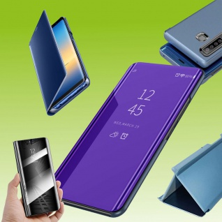 Für Sony Xperia 5 II 2. Gen View Smart Cover Lila Handy Tasche Etuis Wake UP Neu