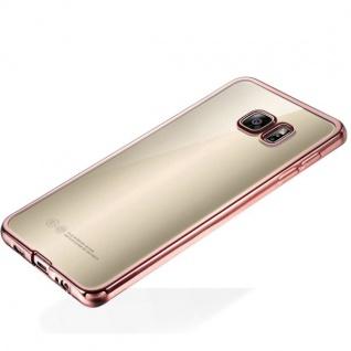 Premium TPU Schutzhülle Pink für Samsung Galaxy S7 G930 G930F Tasche Hülle Case