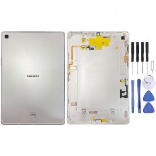 Samsung Metal Akku Deckel Batterie Cover Galaxy Tab S5e T725 GH96-12592A Silber