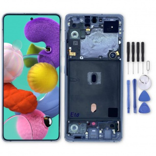 Samsung Display LCD Kompletteinheit für Galaxy A51 5G GH82-23100B Weiß