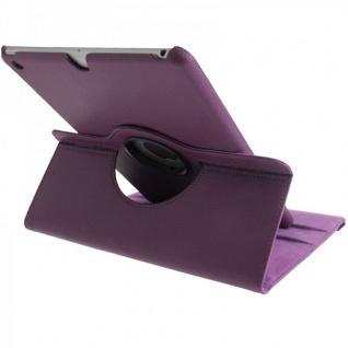 Schutzhülle 360 Grad Lila Tasche für Apple iPad Air Etui Cover Hülle Case Neu