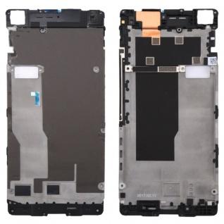 Gehäuse Rahmen Mittelrahmen Deckel kompatibel für Google Pixel 2 XL Schwarz Neu