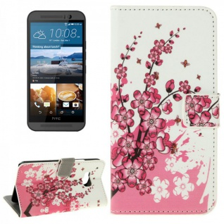 Schutzhülle Muster 6 für HTC One 3 M9 2015 Tasche Cover Case Hülle Etui Schutz - Vorschau 1
