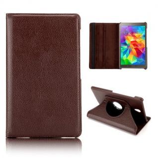 Schutzhülle 360 Grad Braun Tasche für Samsung Galaxy Tab S T700 Hülle Zubehör