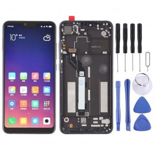 Für Xiaomi Mi 8 Lite Reparatur Display LCD Komplett Einheit mit Rahmen Schwarz