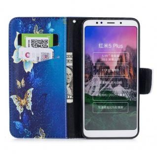 Für Huawei P20 Kunstleder Tasche Book Motiv 38 Schutz Hülle Case Cover Etui Neu - Vorschau 5