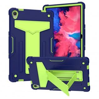 Für Lenovo Tab P11 11.0 Tab-J606F aufstellbare Tablet Tablet Schutzhülle Grün