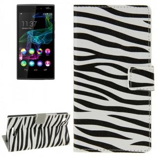 Schutzhülle Muster 7 für Wiko Ridge Fab 4G Bookcover Tasche Hülle Wallet Case