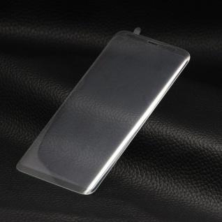 4D 0, 3 H9 gebogenes Hart Glas Transparent Folie für Samsung Galaxy S9 G960F Neu