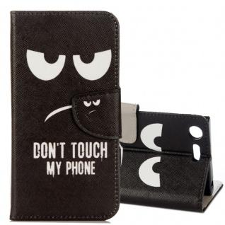 Schutzhülle Motiv 23 für Sony Xperia XZ1 G8341 G8342 Tasche Hülle Case Zubehör