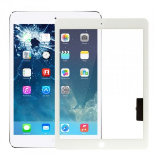 Apple iPad Air Weiss Display Displayglas TouchScreen Scheibe Reparatur Kit Neu