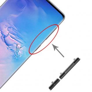 Für Samsung Galaxy S20 FE Sidekeys Seitentasten Schwarz Ersatz Zubehör Reparatur