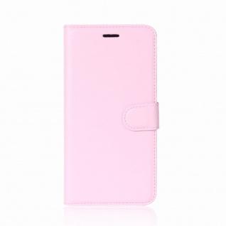 Tasche Wallet Premium Rosa für Huawei Enjoy 7S / P Smart Hülle Case Cover Schutz - Vorschau 2