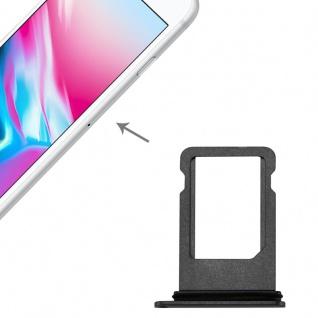 Sim Karten Halter Adapter Sim Card Tray für Apple iPhone 8 4.7 Grau Ersatz Neu