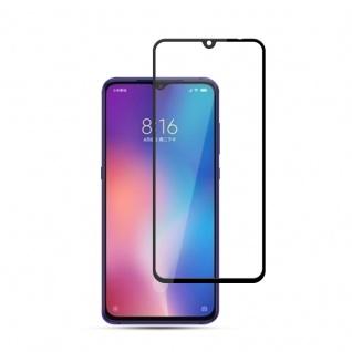 Für Xiaomi Mi 9 9D Display 0, 3 mm H9 Hart Glas Schwarz Schutz Folie Panzer Neu