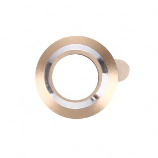 Kameraschutz für Apple iPhone 7 4, 7 Kamera Schutz Kameraring Cam Protector Gold - Vorschau 2