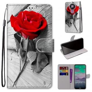 Für Nokia 3.4 Kunstleder Handy Tasche Book Motiv 3 Hülle Case Cover Etuis Schutz