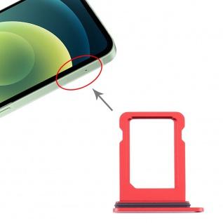 SIM Karten Halter für Apple iPhone 12 Mini Rot Card Tray Ersatzteil Neu