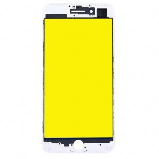 Display Glas für Apple iPhone 7 Plus 5.5 LCD Displayglas Rahmen OCA Kleber Weiß - Vorschau 2