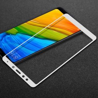 Premium 0, 3 mm H9 Panzerglas Weiß Folie für Xiaomi Redmi 5 Plus Schutz Hülle Neu