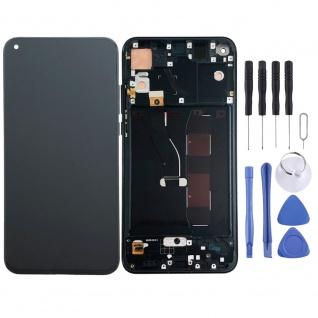 Für Huawei Honor View 20 / V20 Display Full LCD Touch mit Rahmen Ersatz Schwarz