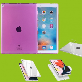 Für Apple iPad Pro 11.0 Zoll 2018 Pink Tasche Hülle Case Cover TPU Silikon dünn