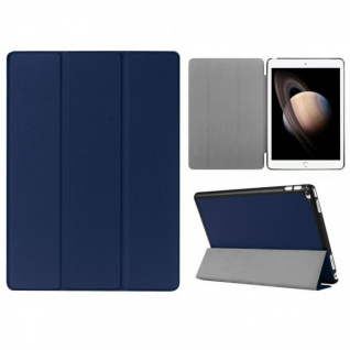 Smartcover Blau Tasche Wake UP Hülle Case für Apple iPad Pro 12.9 Zoll 3. Gen