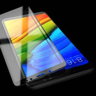 Für Xiaomi Redmi Note 5 3D Premium 0, 3 mm H9 Hart Glas Schwarz Folie Schutz Neu
