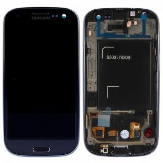 Samsung Full Display LCD GH97-15472A Metallic Blau für Galaxy S3 Neo i9301 Neu