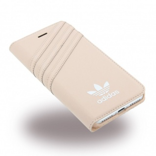 Adidas Basics Tasche Book Cover Apple iPhone 7 Hülle Handytasche Etui Vapour Neu