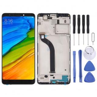 Für Xiaomi Redmi 5 Reparatur Display LCD Komplett Einheit mit Rahmen Schwarz Neu