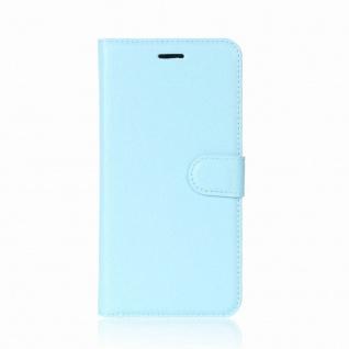 Tasche Wallet Premium Blau für Huawei Mate 10 Pro Hülle Case Cover Etui Schutz - Vorschau 2