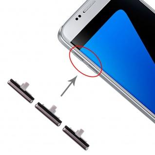 Für Samsung Galaxy S7 Sidekeys Seitentasten Schwarz Ersatzteil Zubehör Reparatur - Vorschau 1