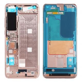 Gehäuse Rahmen Mittelrahmen kompatibel für Xiaomi Mi 10 5G Gold Ersatz Reparatur
