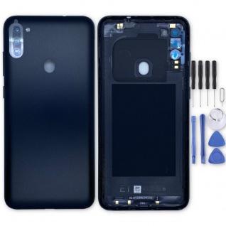 Samsung Akkudeckel Akku Deckel Batterie Cover Galaxy M11 GH81-19132A Schwarz