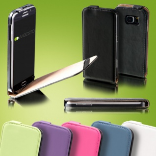 Fliptasche Deluxe für viele Samsung Galaxy Modelle Tasche Case Hülle Zubehör Neu
