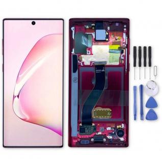 Samsung Display LCD Kompletteinheit für Galaxy Note 10 GH82-20818E Rot