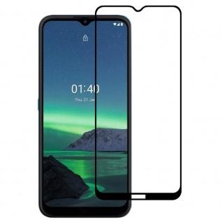 Für Nokia 1.4 3D Display Full LCD H9 Hart Glas Schwarz Folie Panzer Schutz Glas