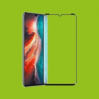 Für Huawei P30 Lite + 2020 New Edition 4D Full Curved Hart Glas Folie H9 Schwarz