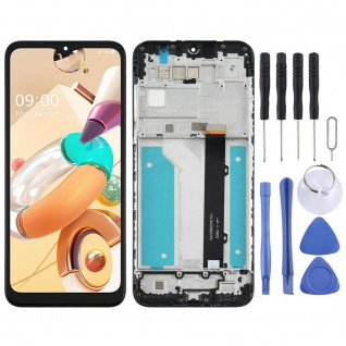 Für LG K41s LM-K410 Display Full LCD Touch Screen Reparatur Ersatz Teil Schwarz