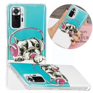 Für Xiaomi Redmi Note 10 Pro Silikon Case TPU Motiv 3 Schutz Hülle Cover Etuis