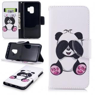 Tasche Wallet Book Muster Motiv 22 für Smartphones Schutz Hülle Case Cover Etui